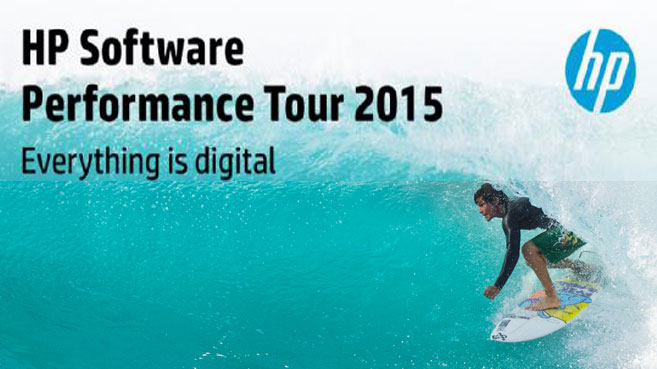 HP Software Performance Tour 2015
