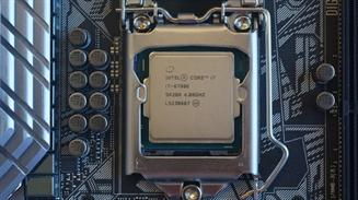 Intel Core socket y placa