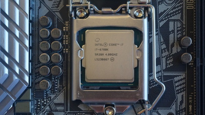 Intel Core i7 en placa base